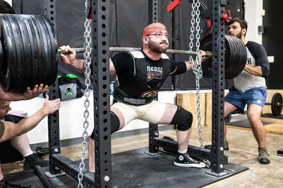 Unleash'd Strength Gym Member Squatting More Than 650 Pounds