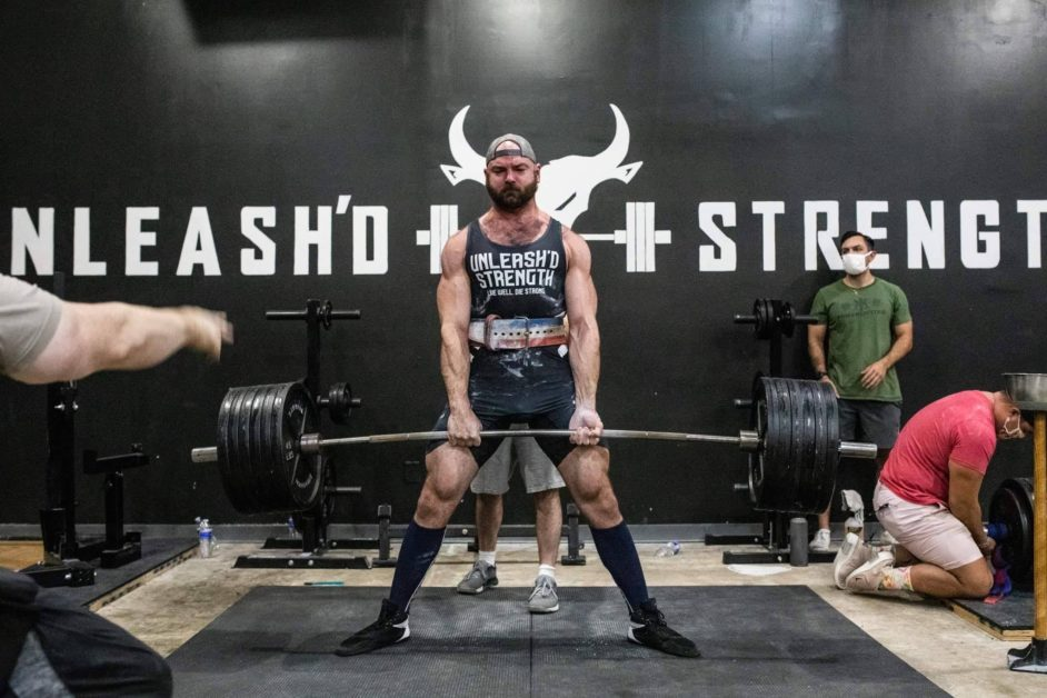 Unleash'd Strength Owner Deadlifting